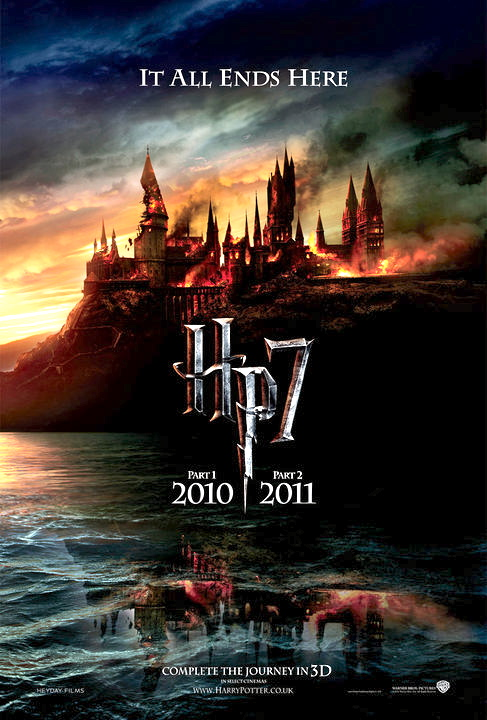 """harry potter 7 poster it all ends here. """"Manonood kami ng Harry Potter"""